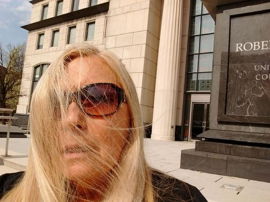 LANA C. KEETON PLAINTIFF PRO SE LITIGANT at ROBERT C. BYRD U.S. COURTHOUSE, CHARLESTON, WVA APRIL 4, 2019 @ALL RIGHTS RESERVED LANA C. KEETON